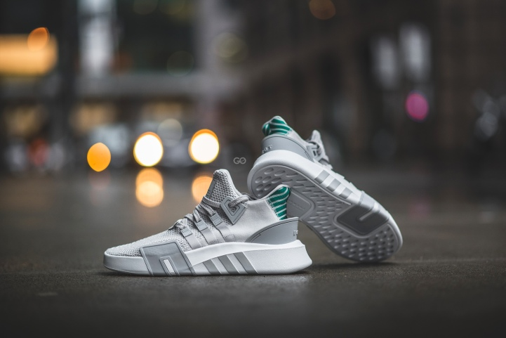 "0571c9547ff2ae Adidas EQT Basketball ADV ""Grey   Green"" Review – Sean Go"