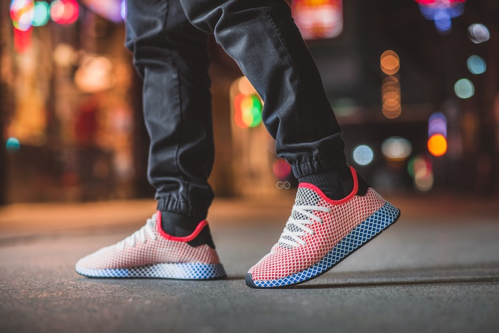 premium selection 6a1e2 1a781 Inspired by running shoes from their archives, the Deerupt is a  lightweight, comfortable shoe thats draped in an external webbed netting.