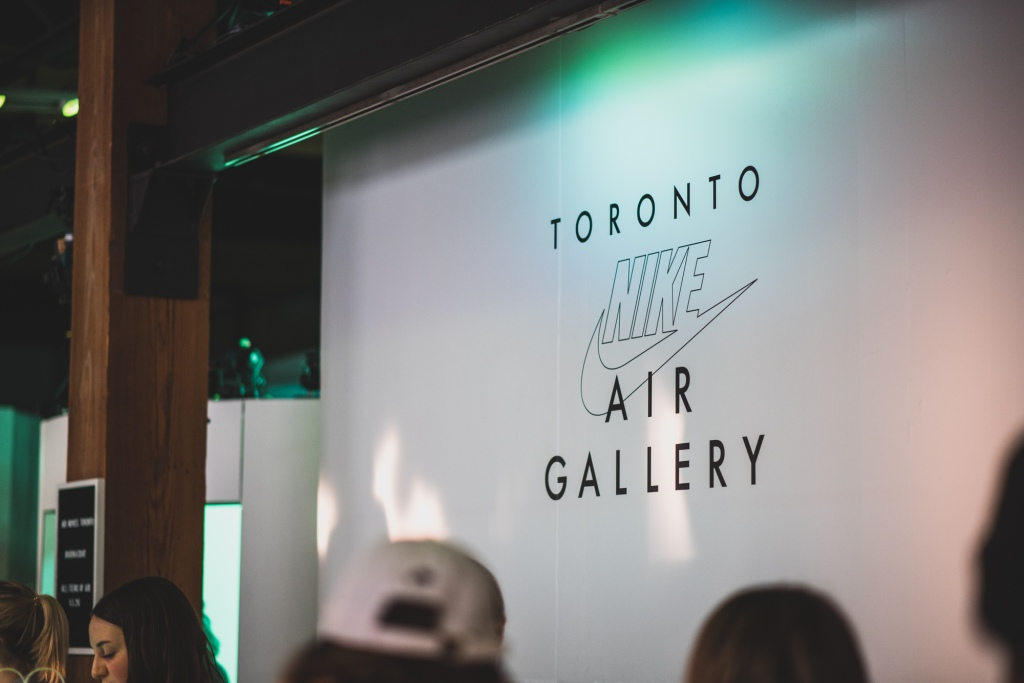 efb05a98ef4 Nike Toronto held a Nike Air Gallery for four local artists