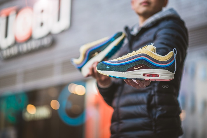 f09814b77103 ... Air Max 1 and 97 by Sean Wotherspoon features a corduroy upper dressed  in bright pastel shades that will be perfect for the coming spring and  summer.