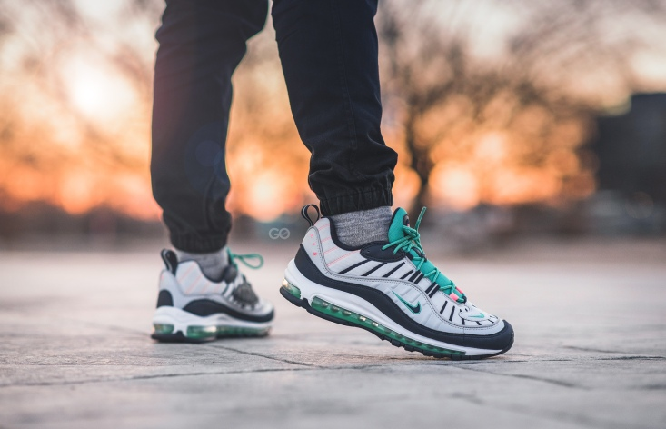 "035ae1e3b00f Nike Air Max 98 ""South Beach"" Review – Sean Go"