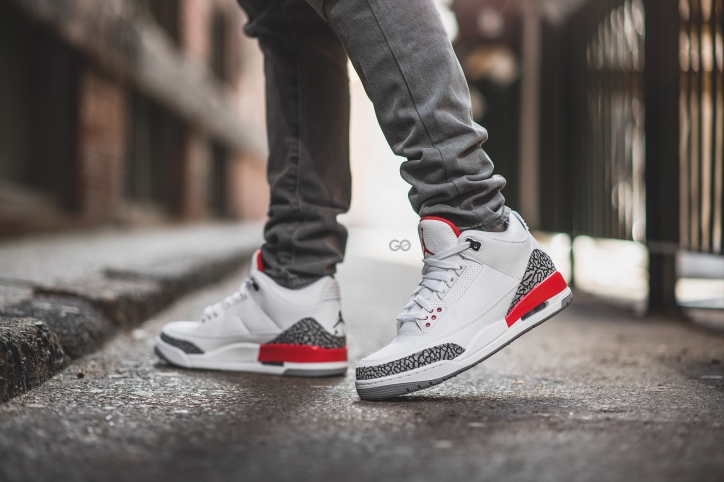 "premium selection 7107c 8562b Air Jordan 3 Retro ""Katrina"" Review – Sean Go"