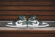 """d6c0d5d2ad9 Featuring leather and suede in a similar colour blocking style to the  iconic """"Black Toe"""" Air Jordan 1"""