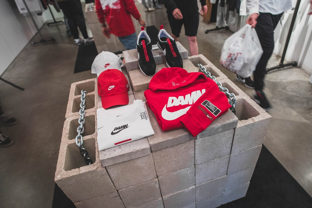 32080c08 Top Dawg Entertainment's Championship Shop, which features exclusive  collaborative merchandise with Nike sold for The Championship Tour, has  landed in ...