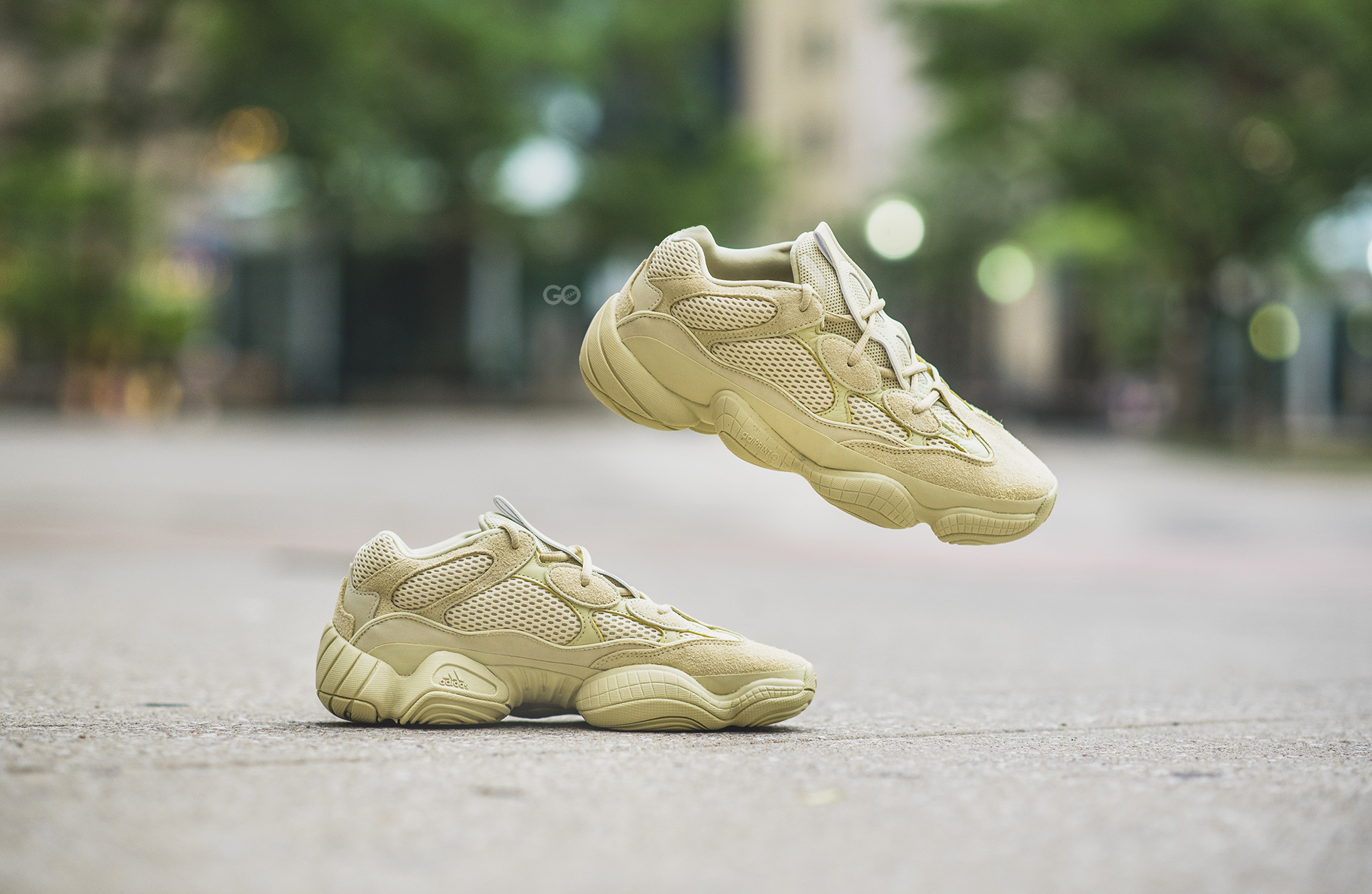 """on sale 0d0be da4fe Adidas Yeezy 500 """"Super Moon Yellow"""" Review – Sean Go"""