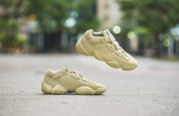 "43030db65fb Adidas Yeezy 500 ""Super Moon Yellow"" Review – Sean Go"