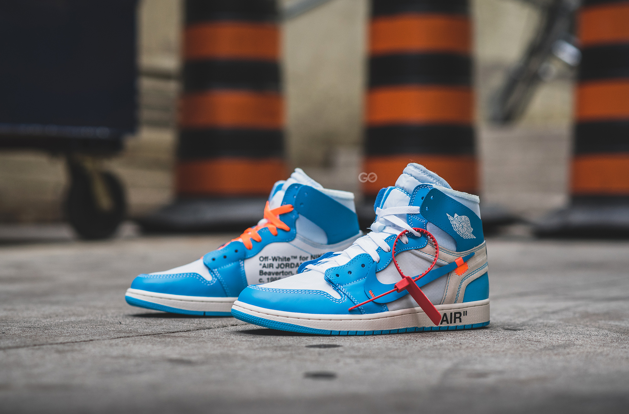 "Off White x Air Jordan 1 NRG ""UNC"" Review – Sean Go"
