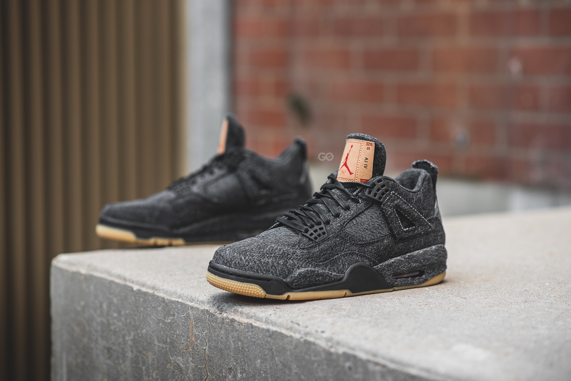 "9210240f1a32c0 Levi s x Air Jordan 4 Retro NRG ""Black"" Review – Sean Go"