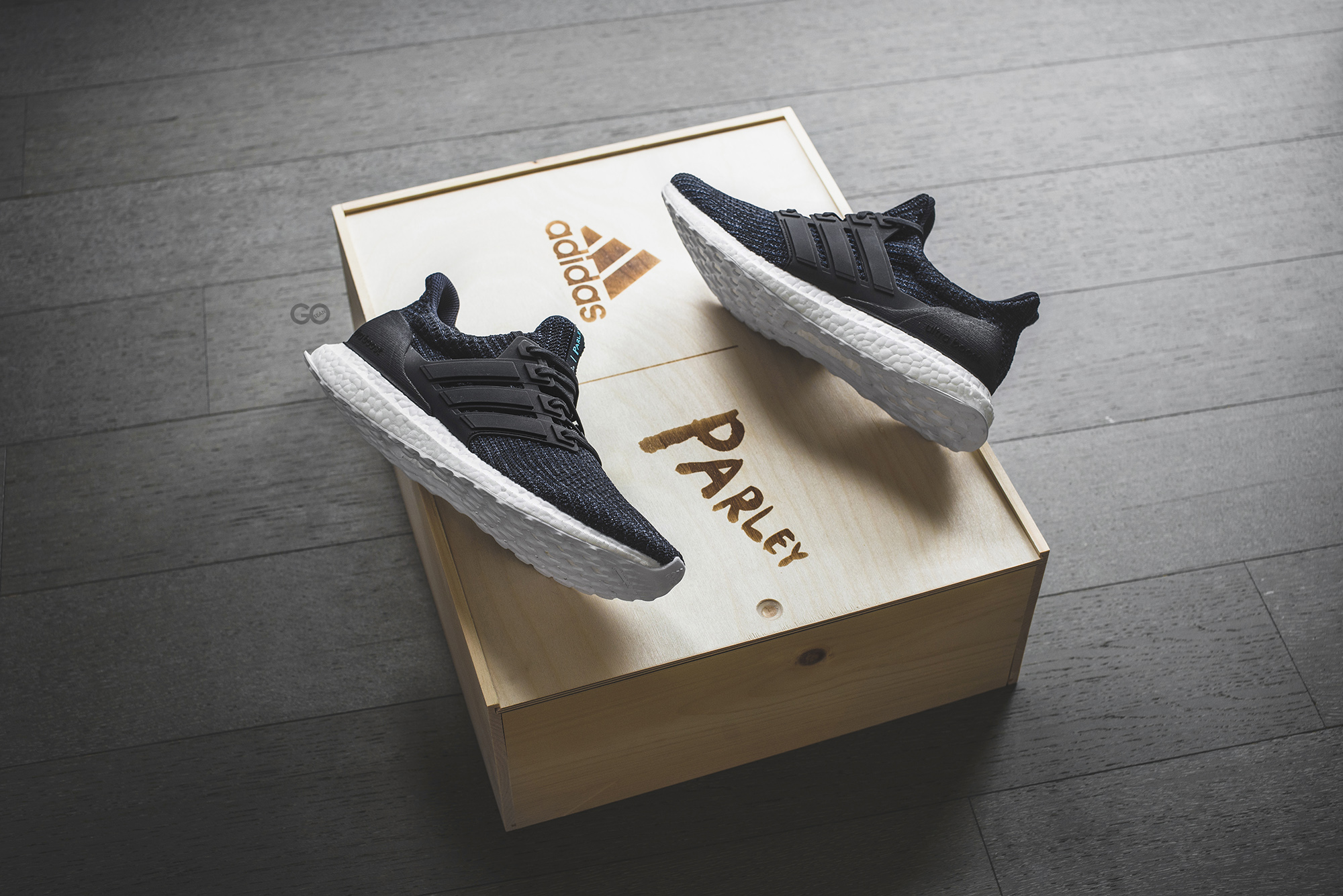 """new concept 19f98 54e84 Adidas Ultra Boost Parley """"Legend Ink"""" Review (Run For The Oceans) – Sean Go"""