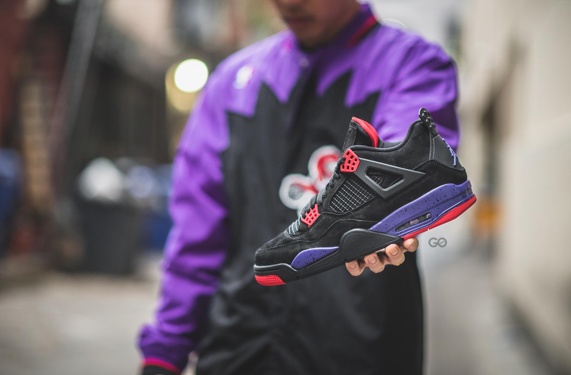 """sports shoes db2f8 8e5b4 Air Jordan 4 Retro NRG """"Toronto Raptors"""" Review – Sean Go"""