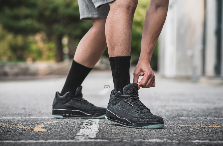 "low priced aa366 73819 Air Jordan 3 Retro Flyknit ""Black / Anthracite"" Review – Sean Go"