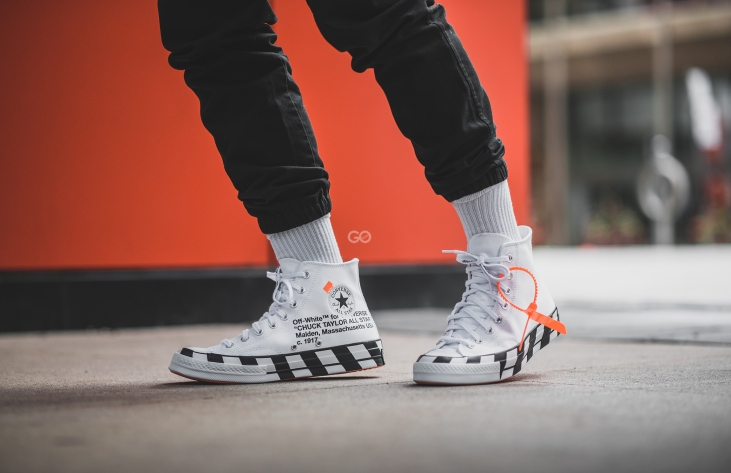 "bfe81130dfa Off-White x Converse Chuck 70 ""Stripe"" Review – Sean Go"