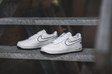 "6344933656 Dover Street Market x Nike Air Force 1 Low ""NYC White"" Review – Sean Go"