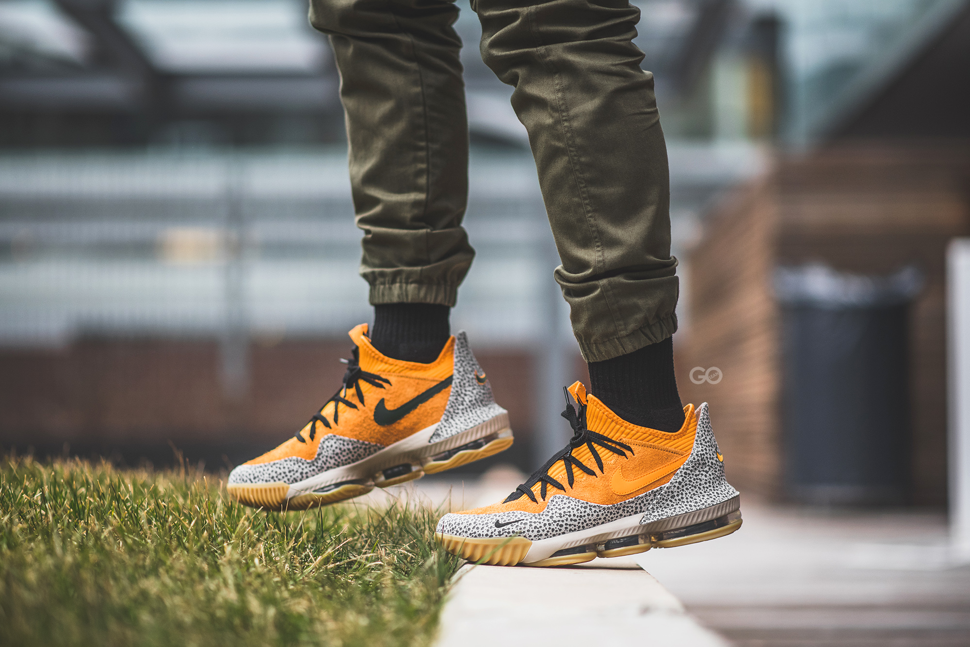 Nike LeBron 16 Low AC \u201cAtmos Safari\u201d Review \u2013 Sean Go
